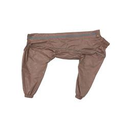 Osso Fashion Дождевик для больших собак, модель для мальчика, цвет какао, спина 55см