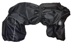 LifeDog Комбинезон для крупных пород собак черный, размер 7XL, модель для девочек, спина 75-85см