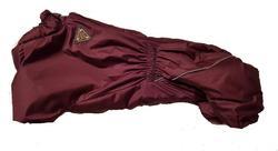 SportDog Комбинезон для таксы, теплый, на меху, бордовый