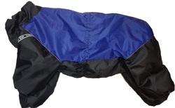 LifeDog Комбинезон для больших пород собак, синий/черный, размер 5XL, спина 60см