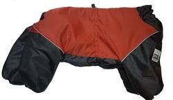 LifeDog Комбинезон для больших пород собак, красный/черный, размер 5XL, спина 60см