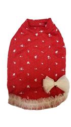 P&D Платье для собак Розочки красное, размер М