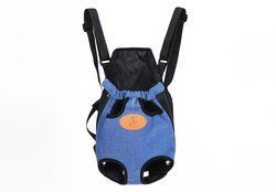Al1 Рюкзак-переноска для собак джинса, размер XL