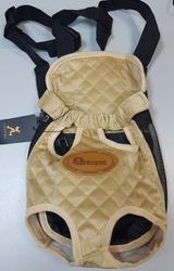 Al1 Рюкзак-переноска для собак бежевый, размер М