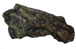 LifeDog Комбинезон для французского бульдога №6 камуфляж на меху, спина 40-44см