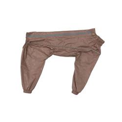 Osso Fashion Дождевик для крупных собак, модель для девочки, какао, спина 70см, грудь 74-104см