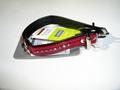 Hunter Ошейник Modern Kroko Luxus 27/11 (20-24см), красный, с камнями Swarovski