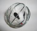 Beeztees Игрушка для кошек Мышь в металлическом шаре, размер 5,5 см