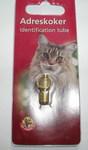 Beeztees Медальон-адресник для собак и кошек, цвет золотой