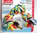 Petstages Игрушка для собак Канат с 3-мя узлами текстильный