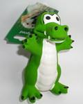 Beeztees Игрушка для собак Крокодил, латекс, 12см