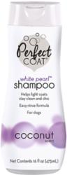 8 in 1 Шампунь-кондиционер для собак PC White Pearl для светлых окрасов с ароматом кокоса 473 мл