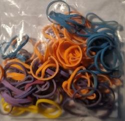 Lainee Резинки латексные размер L разноцветные, 50 шт. в упаковке