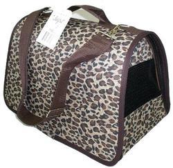 "DOGMAN Сумка -переноска для собак Лира №2 с рисунком ""Леопард"", 39х25х26см"