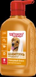 """М.Бруно Шампунь №1""""Глянцевый блеск"""" для собак 350мл"""