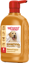 """М.Бруно Шампунь №6""""Нежный бархат"""" для щенков 350мл"""