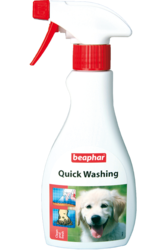 Beaphar Quick Wash Экспресс-шампунь для собак и лошадей, 250мл
