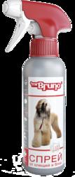 """М.Бруно Спрей инсектоакарицидный """"Интенсивная защита"""" для собак 200мл с 12-ти месяцев"""