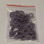 Lainee Резинки латексные размер М, сиреневые, 50 штук в упаковке