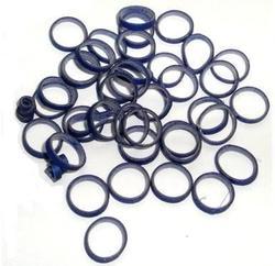 Lainee Резинки латексные размер L синие, 50 штук в упаковке