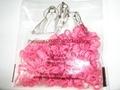 Lainee Резинки латексные размер М коралл, 50 шт. в упаковке