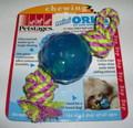 Petstages Игрушка для собак mini Orka Мяч с канатом