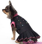 ForMyDogs Платье джинсовое, размер 10