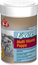 8 in 1 Excel Puppy Multi Vitamin. Поливитаминная добавка с минералами для щенков (100 таб)