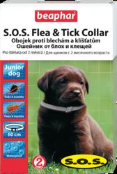 Beaphar S.O.S. Flea&Tick Collar Puppy - Ошейник от блох для щенков с 6-ти недельного возраста