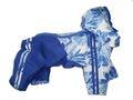 LifeDog Дождевик цвет синий, размер М. Длина спины 27,5-28см