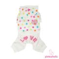 Pinkaholic  Спортивный костюм из флисовой ткани, цвет белый, размер S