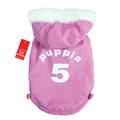 "Puppia Двухсторонний пуховик ""5"", цвет розовый, размер L"