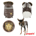 Puppia Двухсторонняя куртка Модель Люксор, цвет коричневый, размер L