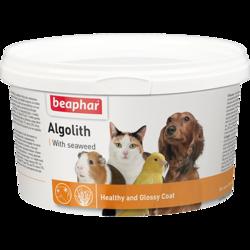 Beaphar ALGOLITH витаминно-минеральная смесь на основе морских водорослей для собак и кошек, 250г