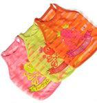 ForMyDogs Маечка для собак легкая, цвет оранжевый, размер 10, 12