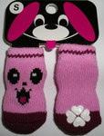 ForMyDogs Носки цвет розовый с рисунком, размер М