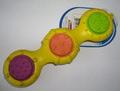 Petstages Игрушка для собак из натуральной резины 3 диска, 15см