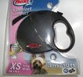 Flexi Рулетка Comfort Compact Mini 3m черный для собак весом до 12 кг