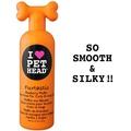 """Pet Head Furtastic Крем-ополаскиватель черничный """"Пушистик"""" для длинной шерсти собак с овсянкой,экстрактами кактуса и календулы,, 475мл."""