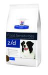 HILL'S Диета для собак Z/D Ultra лечение острых пищевых аллергий сух.