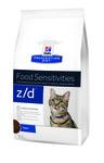 HILL'S Диета для кошек Z/D лечение острых пищевых аллергий 2кг