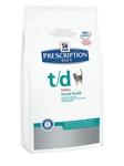 HILL'S PD Feline t/d Для кошек, лечение заболеваний полости рта, сух.1,5кг
