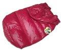 I's Pet Куртка-пуховик теплая, цвет бордовый, размер S