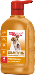 """М.Бруно Шампунь №3""""Жесткий стиль"""" для собак 350мл"""