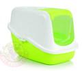 Beeztees Nestor Туалет-домик для кошек зеленый 56х39х39см
