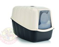 Beeztees Nestor Туалет-домик для кошек черный 54х39х40см