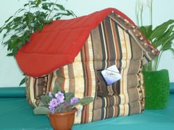 "Бобровый дворик Избушка для собак ""Летний вариант"", размер 62х52х47см"