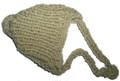 Шапочка для собак фисташковая вязанная, размер XS/S