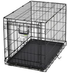 MidWest Клетка Ovation 79х49х55h см с торцевой вертикально-откидной дверью, черная