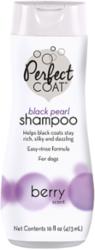 8 in 1 Шампунь-кондиционер для собак PC Black Pearl для темных окрасов с ароматом бойзен-ягоды 473 мл